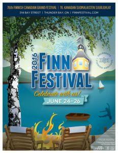 Finn Festival 2016 poster